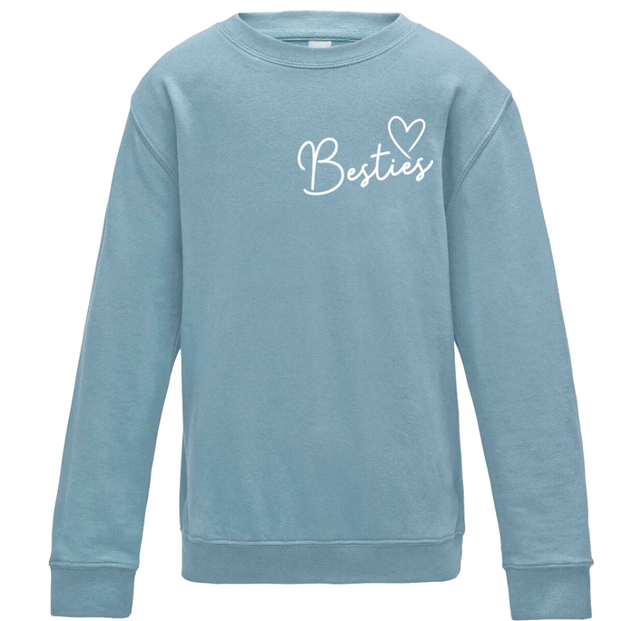 Besties Mini Logo Matching Sweatshirts (MRK X)