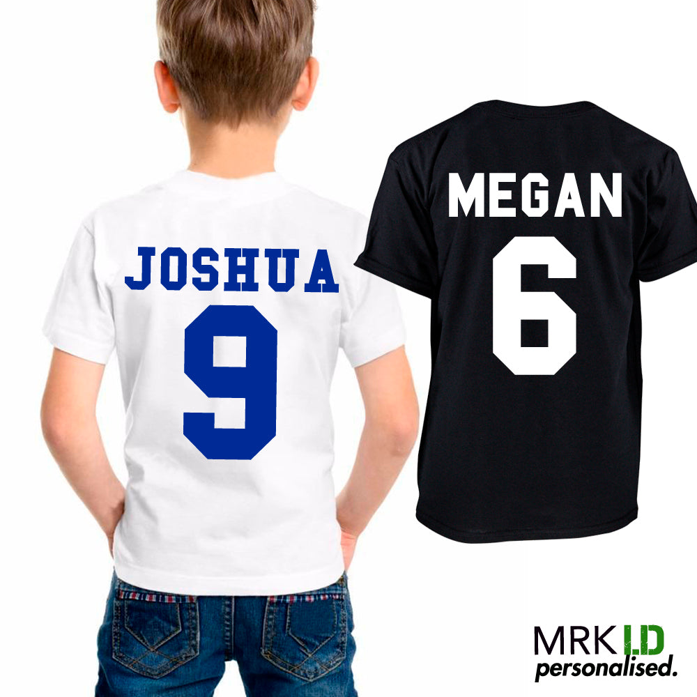 Personalised Footy Birthday Tees (MRK X)