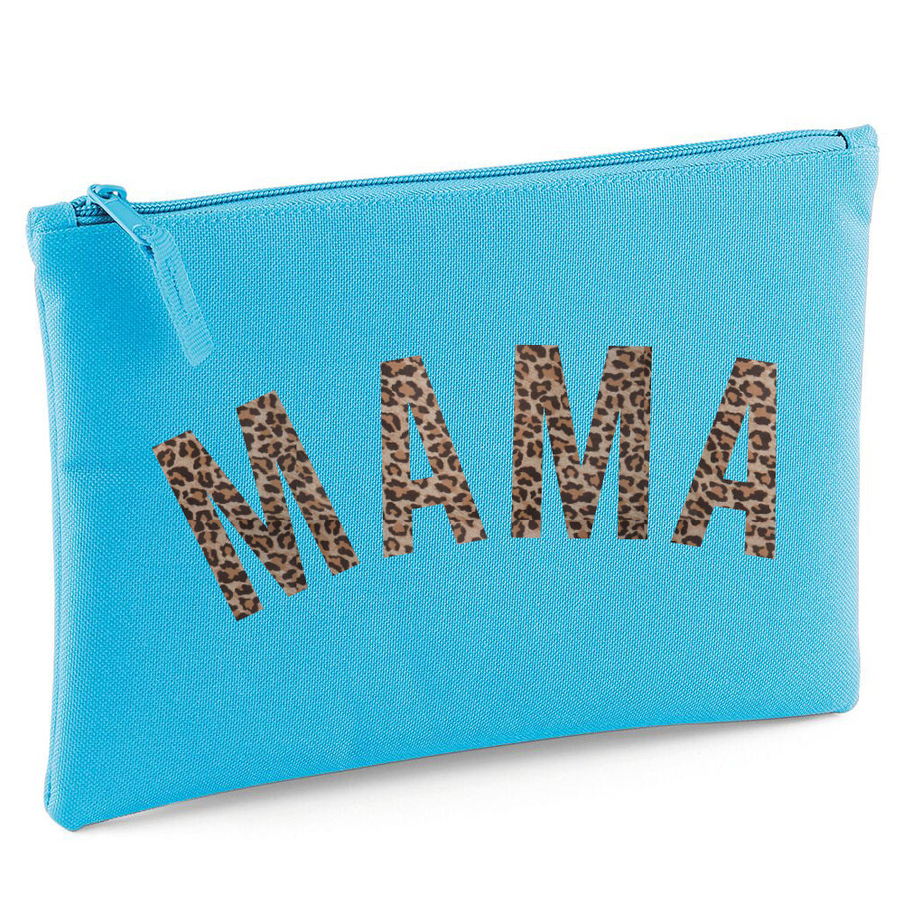 Mama Leopard Grab/Makeup Bag (MRK X)