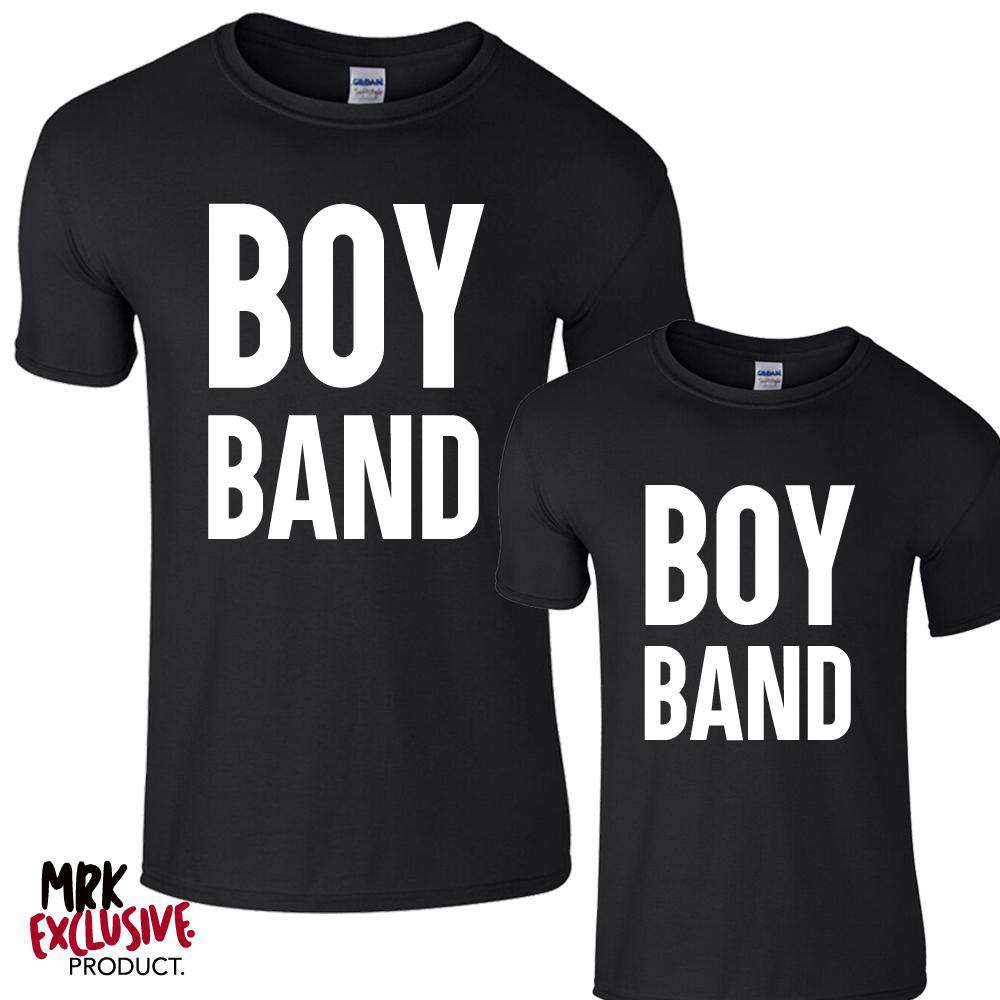 Boy Band Black Tees (MRK X)