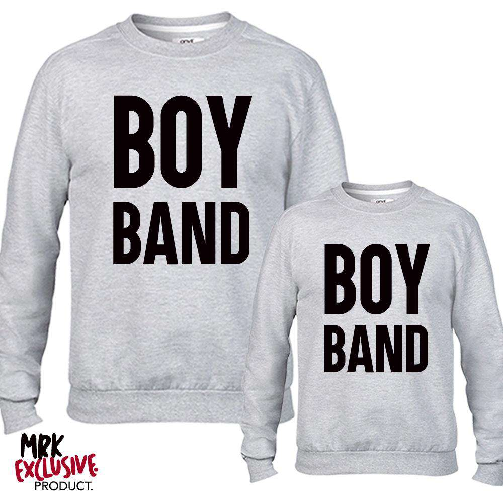Boy Band Grey Sweaters (MRK X)
