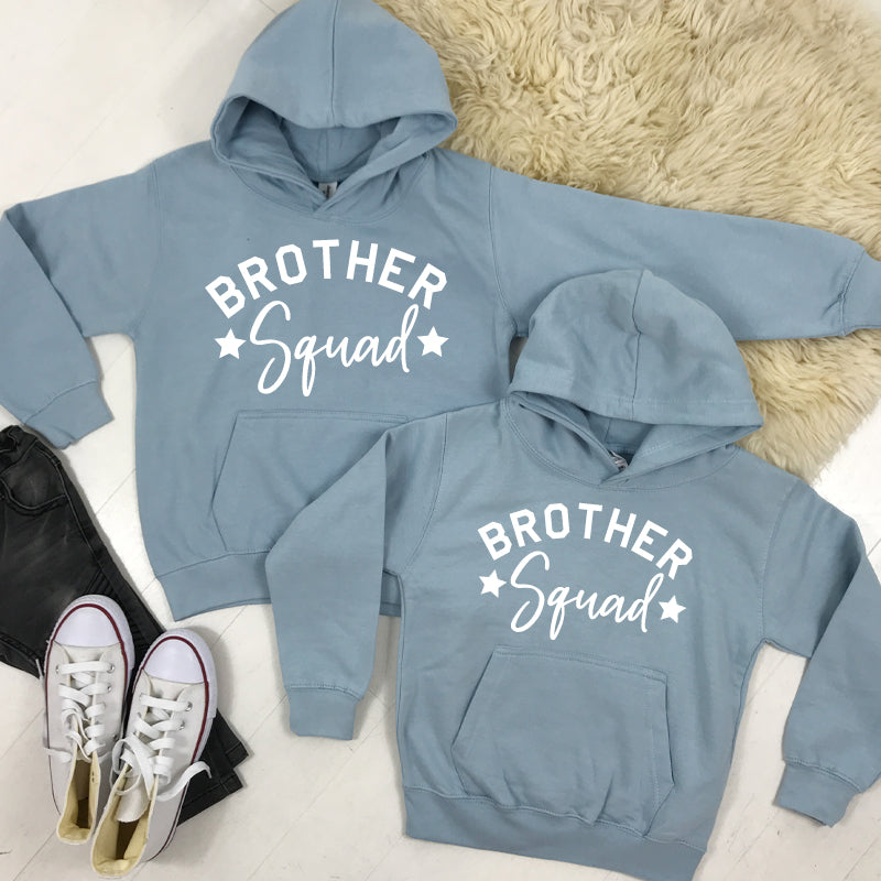 Brother Squad Star Hoodies Sky Blue (1-13 Years) (MRK X)