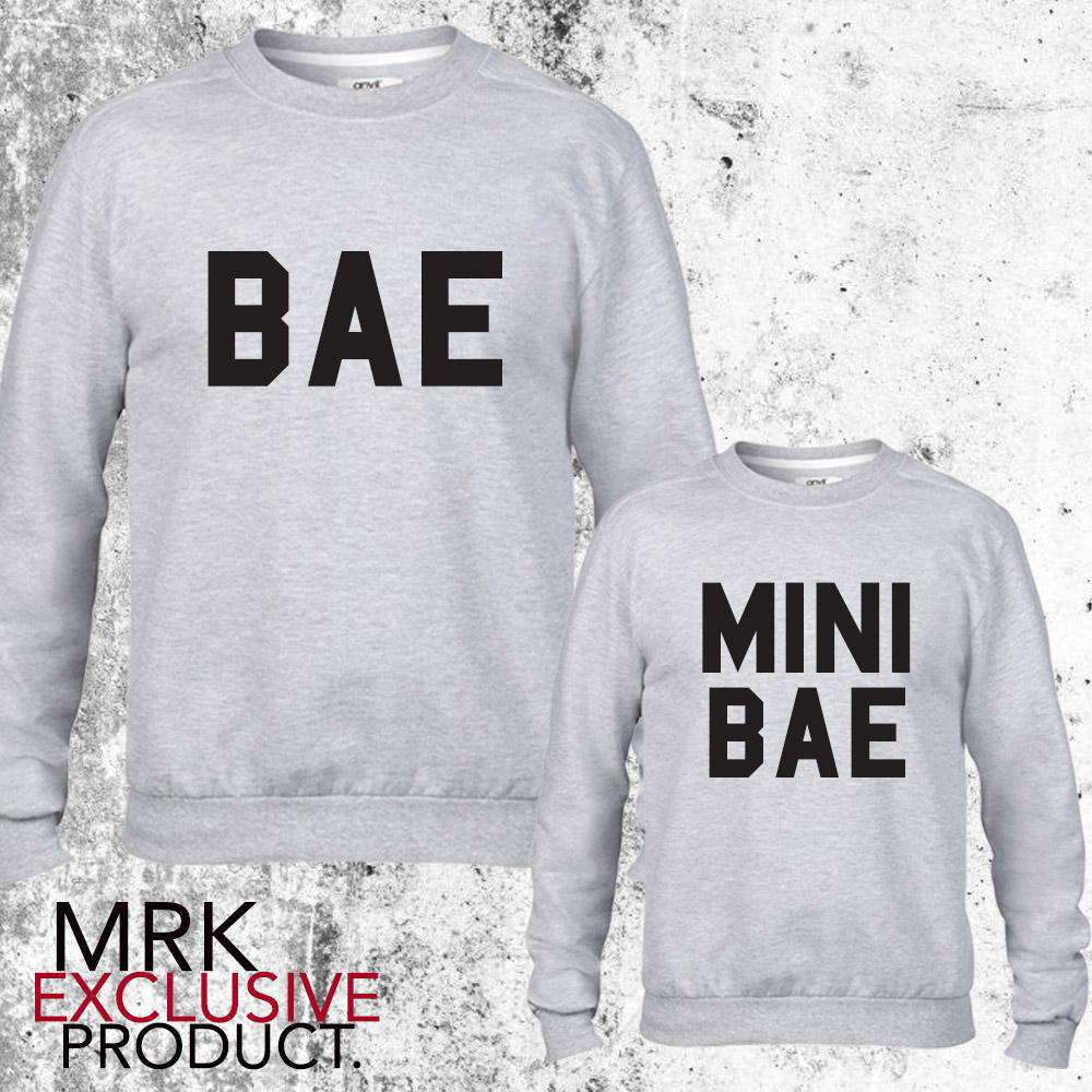 BAE/Mini BAE Matching Grey Sweats (MRK X)