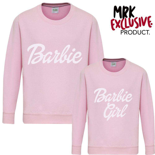 Barbie Matching Pastel Pink Sweaters (MRK X)