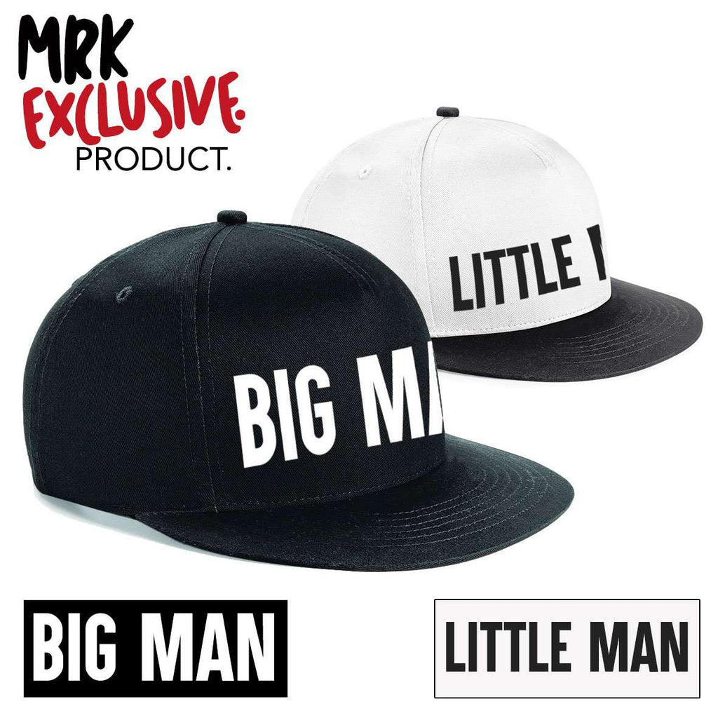 Big Man/Little Man Matching Snapback Caps (MRK X)