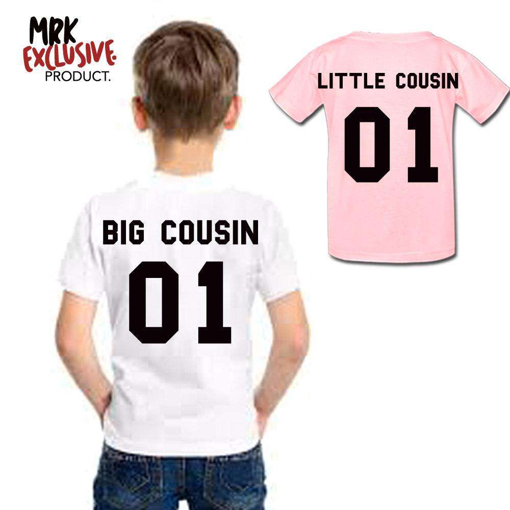 Big Cousin/Little Cousin 01 Matching Tees (MRK X)
