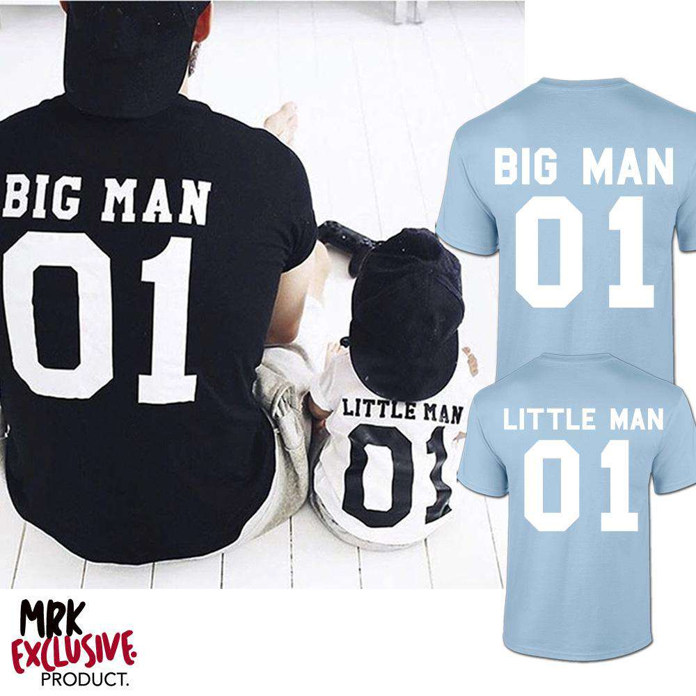 Big Man/Little Man Dad & Son Matching Tees (MRK X)