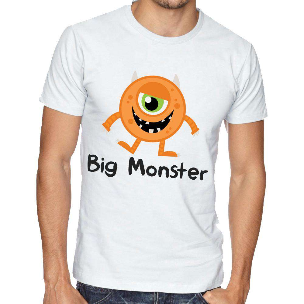 Big Monster/Little Monster Matching Dad & Kids Matching Tees (MRK X)