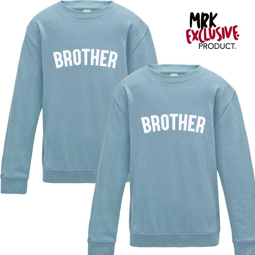 Brothers Pastel Matching Sweaters (2-13 Years) (MRK X)