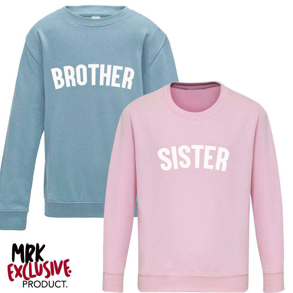 Brother/Sister Pastel Matching Sweaters (1-13 Years) (MRK X)