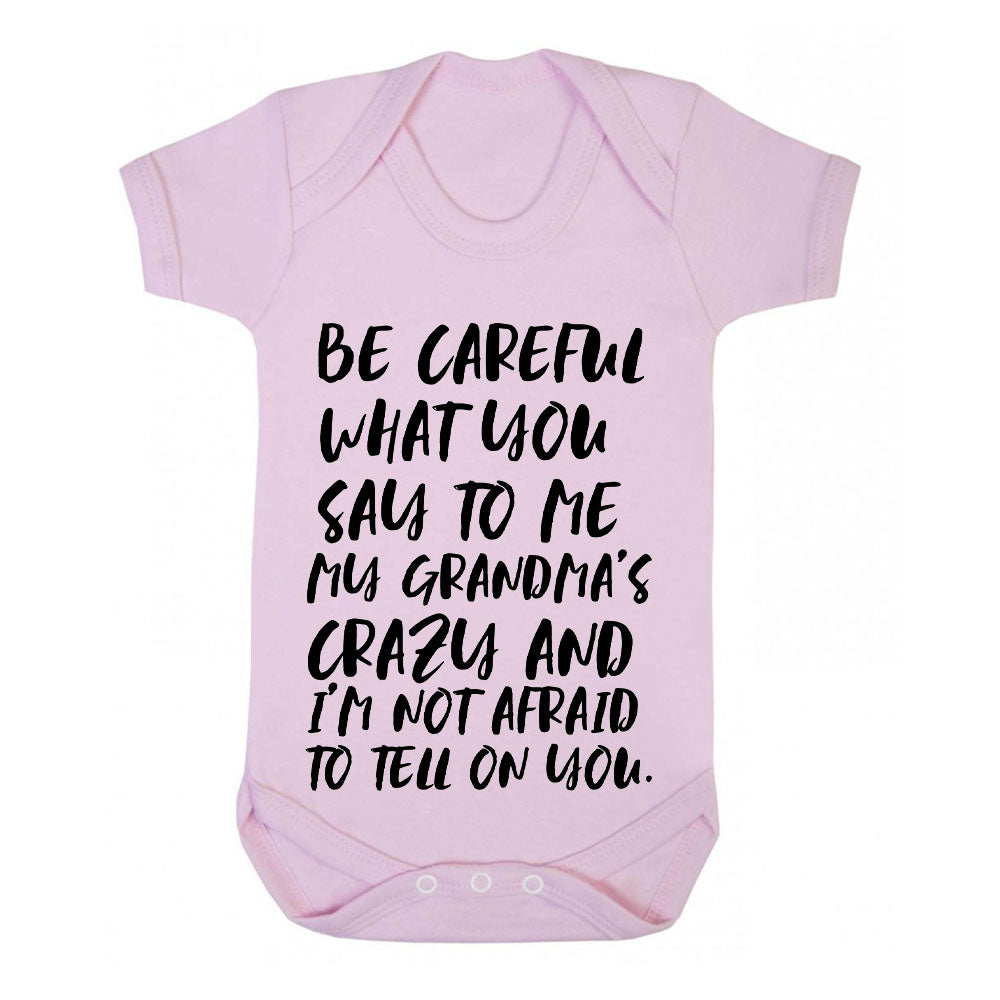Careful What You Say..Multi Bodysuits Grey (MRK X)