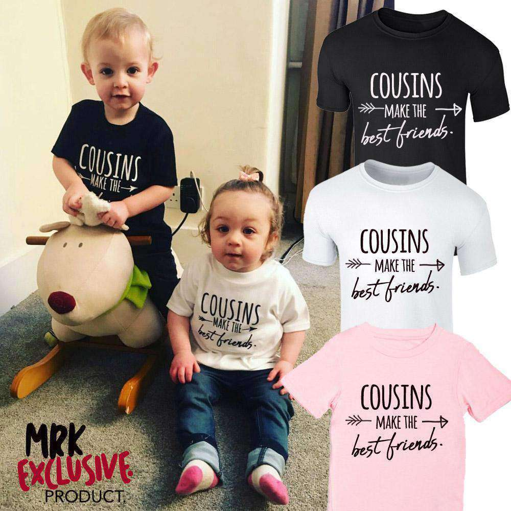 Cousins/Best Friends Fashion Tees (1-13 Years) (MRK X)