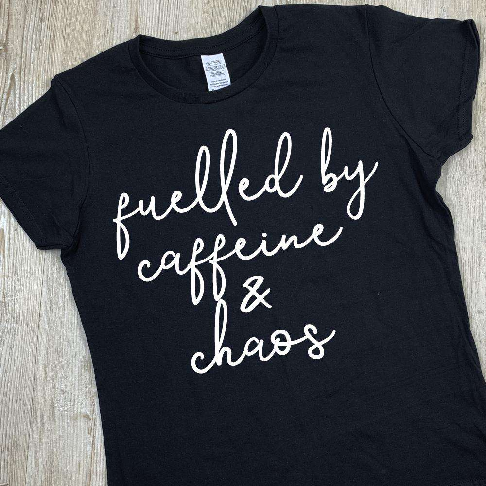 Fuelled by Caffeine & Chaos Tee (MRK X)