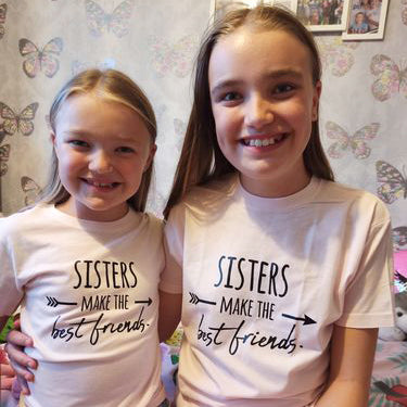 Sisters Make Best Friends Pink Tees (MRK X)