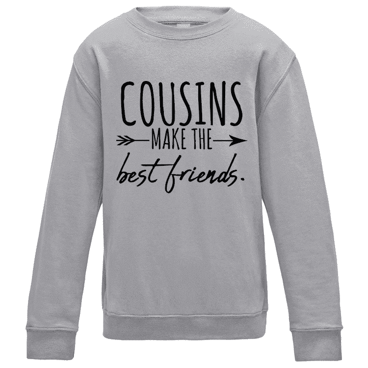 Cousins/Best Friends Crew Sweater (MRK X)