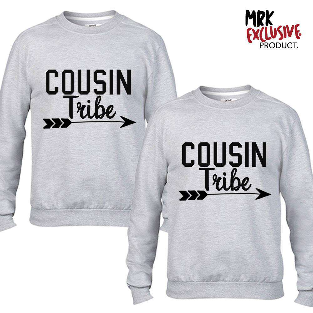 Cousin Tribe Grey Sweaters (MRK X)