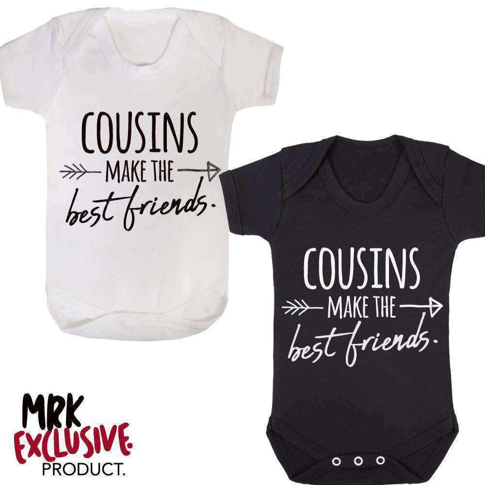 Cousins/Best Friends Fashion Bodysuits (0-24 Months) (MRK X)