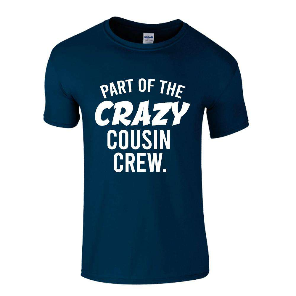 Crazy Cousin Crew Name & Number Tees (MRK X)