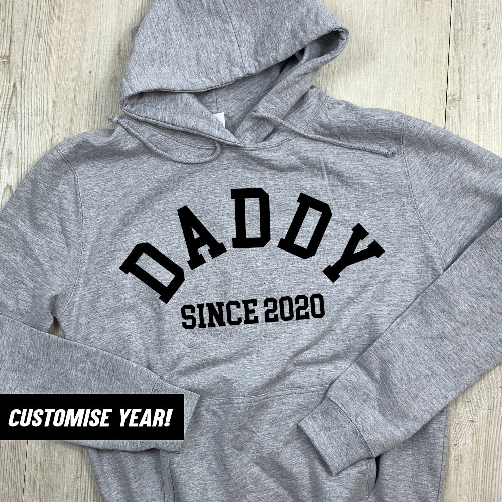Personalised Daddy Since Hoodie (MRK X)