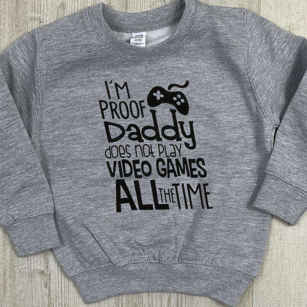 Daddy Video Games Crew Sweater (MRK X)