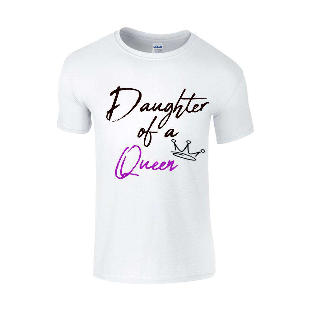 Mother Of A Princess White Matching Tees (MRK X)