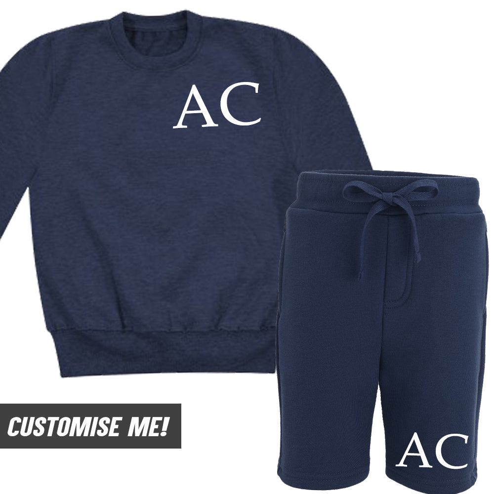 Personalised Edmonton Name Sweatshirt & Short Set (MRK X)