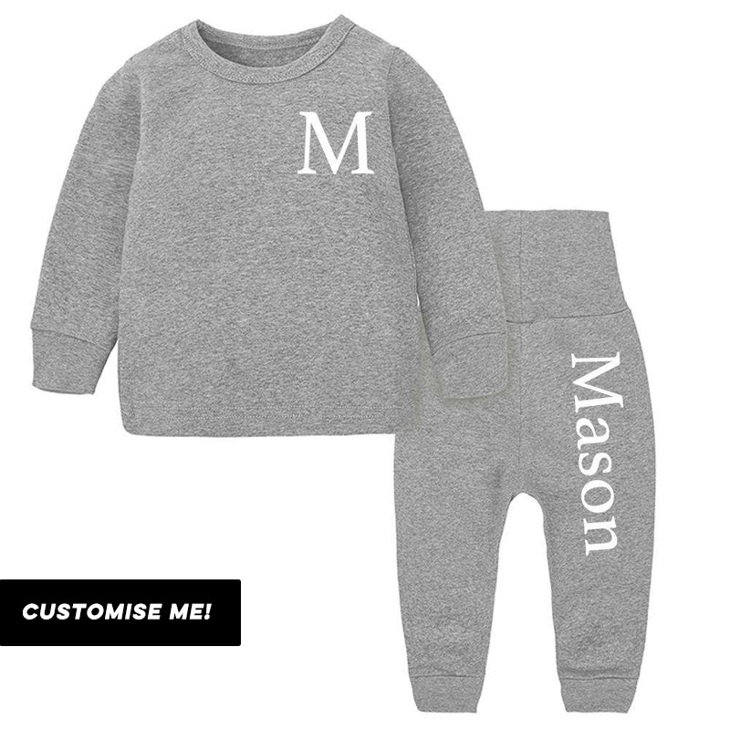 Essex Personalised Initial & Name Pant Tracksuit Set (3m-12 Years)