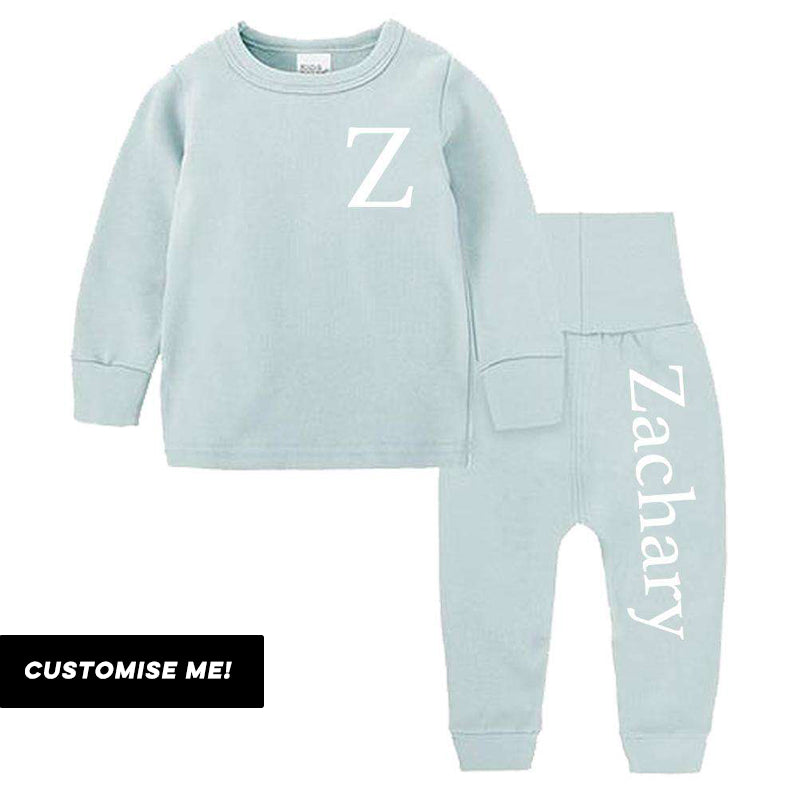 Essex Personalised Initial & Name Pant Tracksuit Set (3m-12 Years) (MRK X)