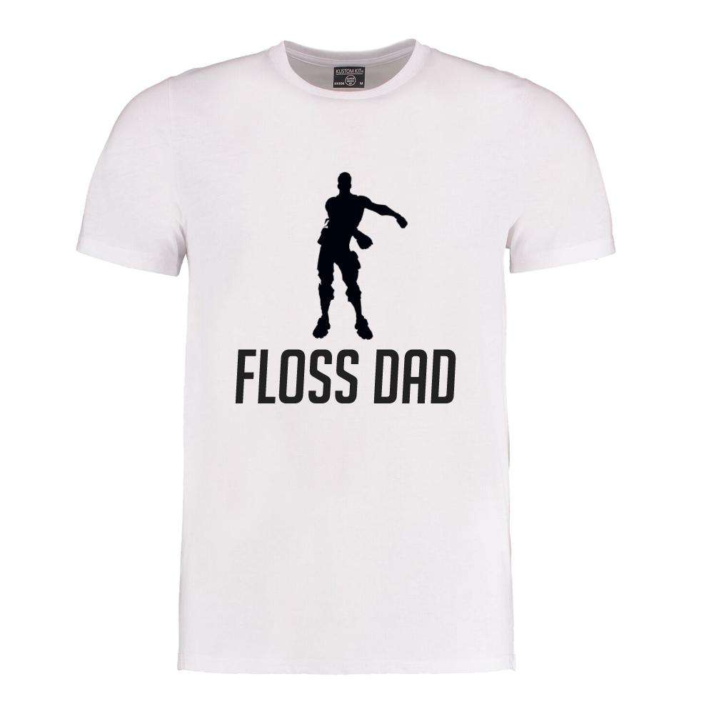 Floss Family White Crew Tees (MRK X)