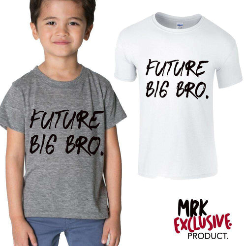 Future Big Bro White/Grey Tees (MRK X)