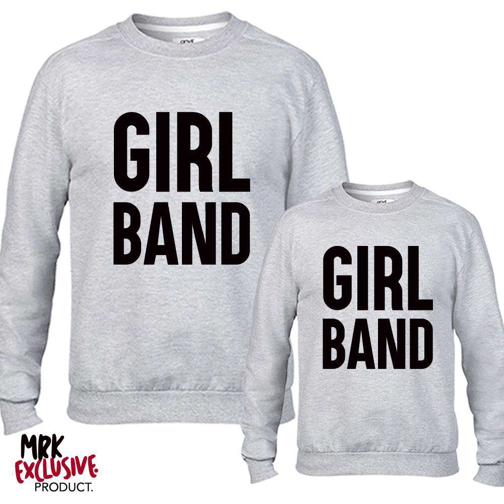 Girl Band Grey Sweaters (MRK X)