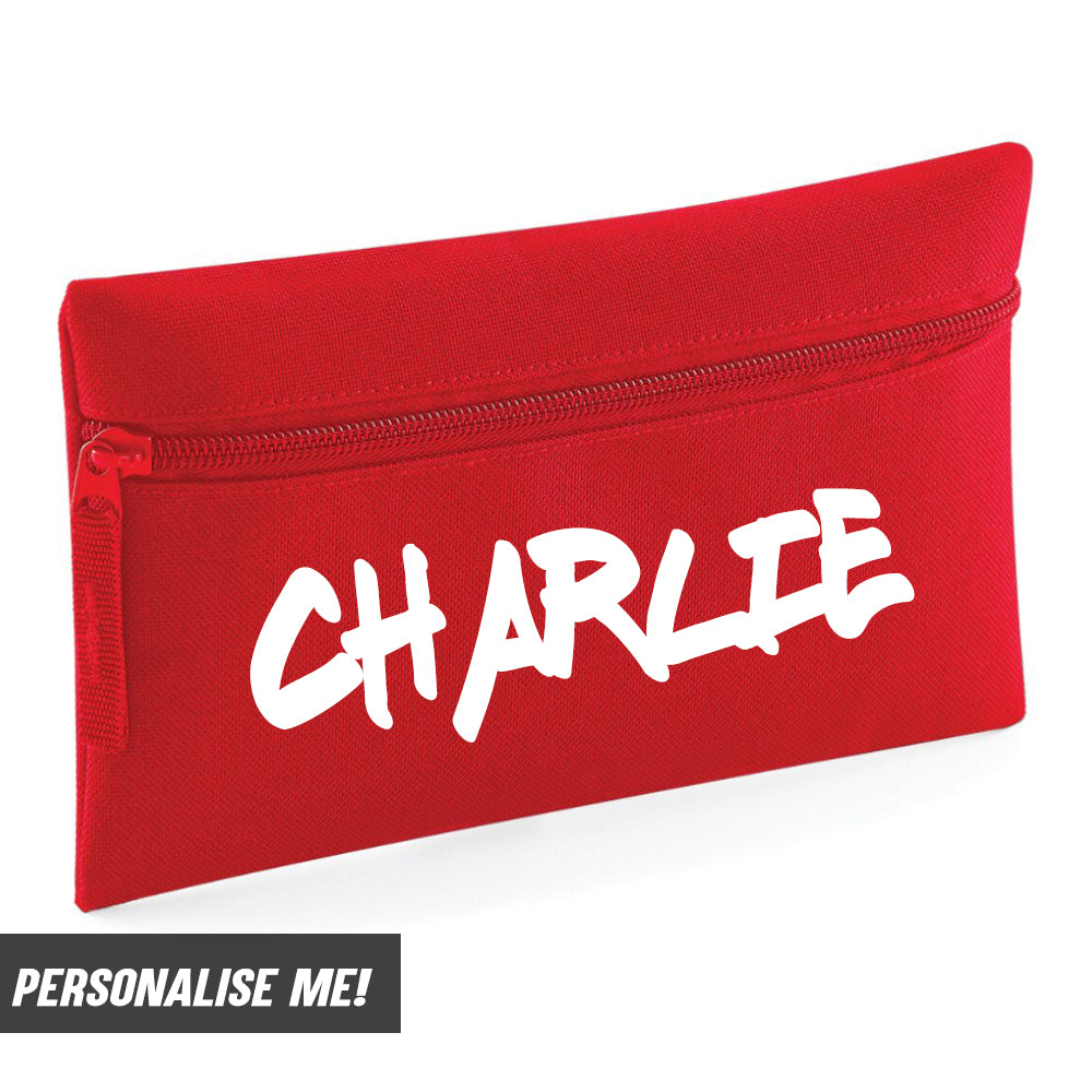 Personalised Graffiti Pencil Case (MRK X)