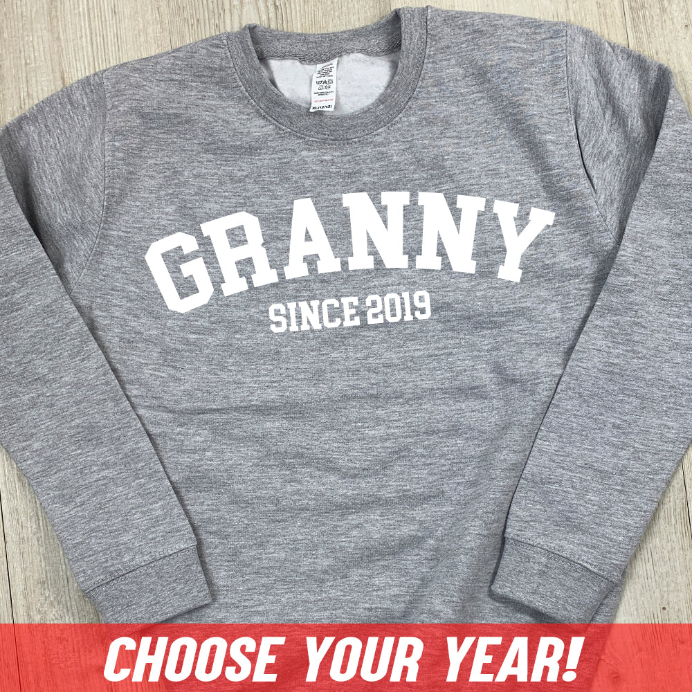 Personalised Granny Since Sweatshirt (MRK X)