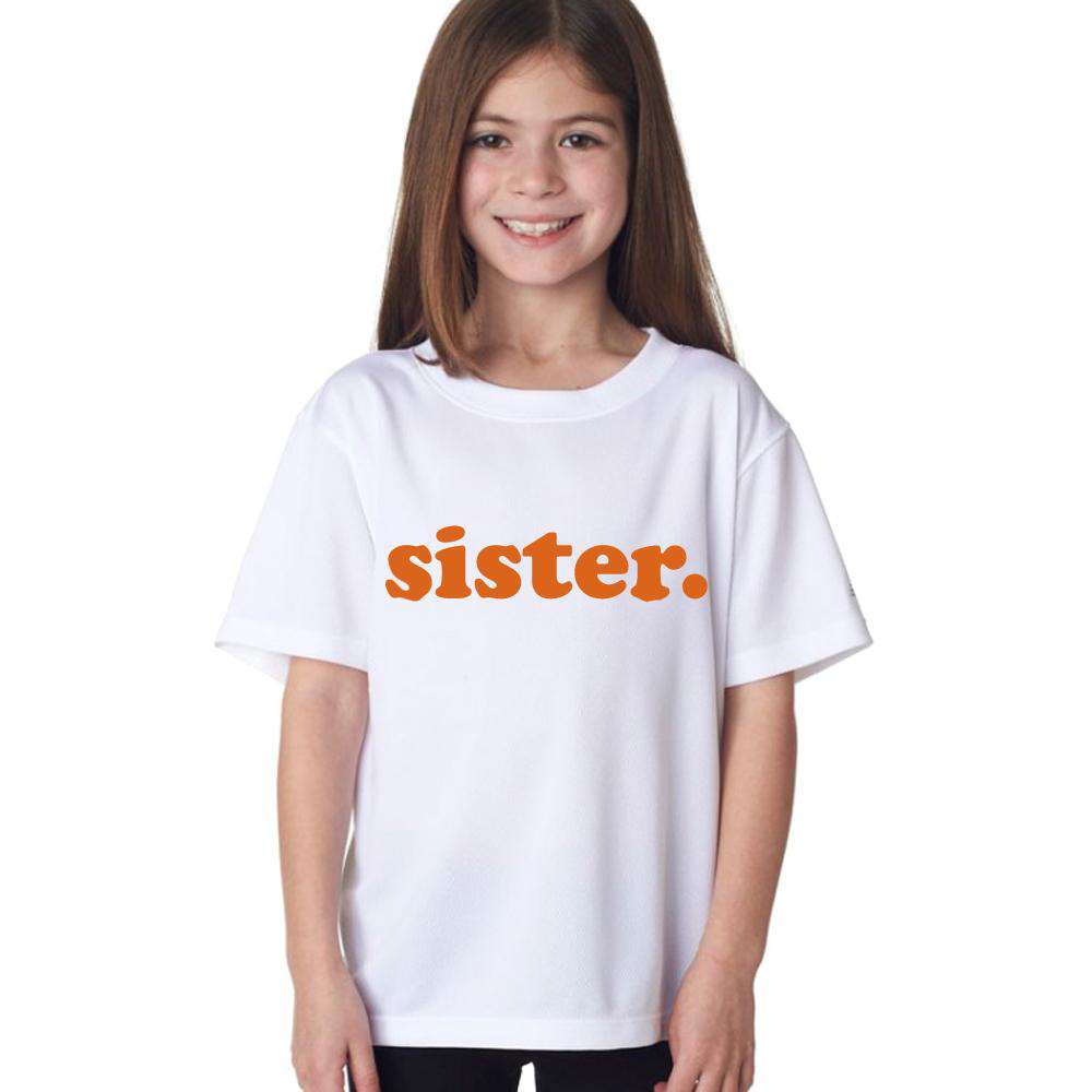 Matching Groovy Brother & Sister White Tees (MRK X)