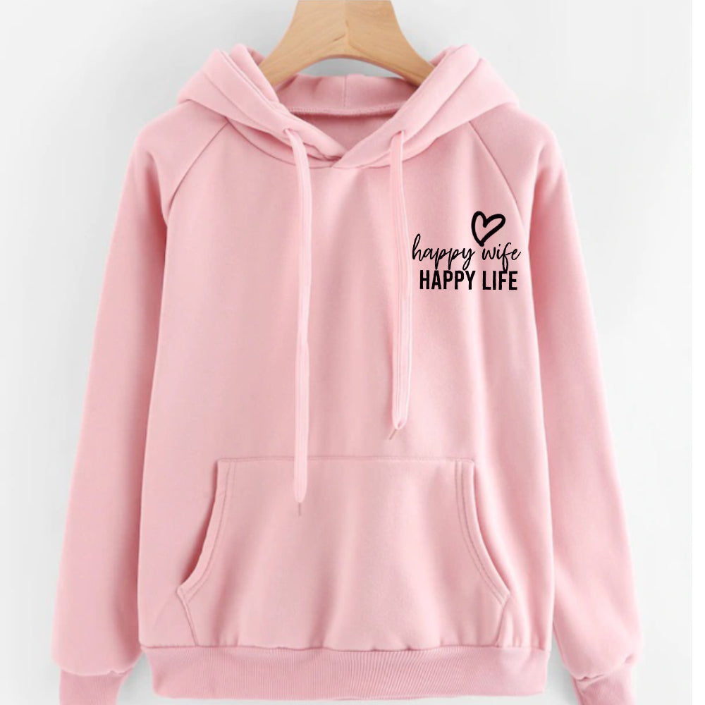 Happy Wife Happy Life Hoodie (MRK X)