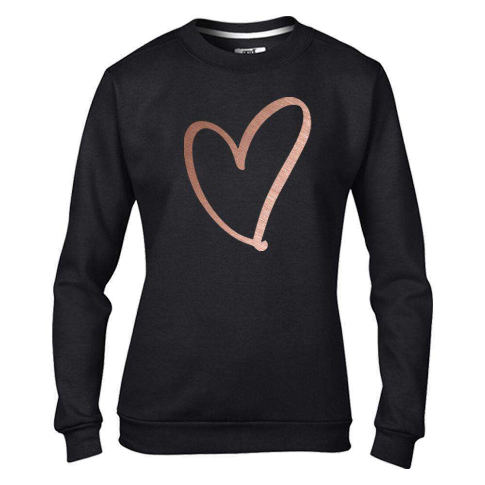 Personalised Heart Print Family Matching Sweaters (MRK X)