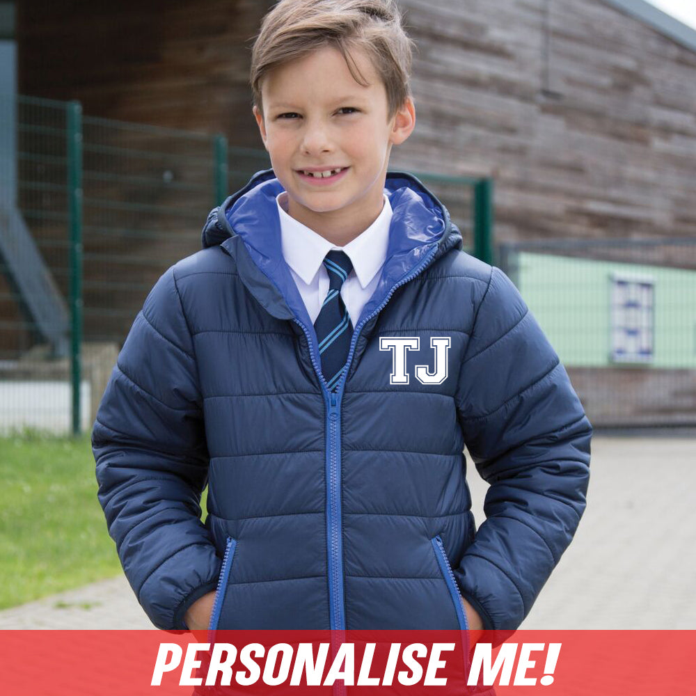 Personalised Initial Padded Jacket (MRK X)