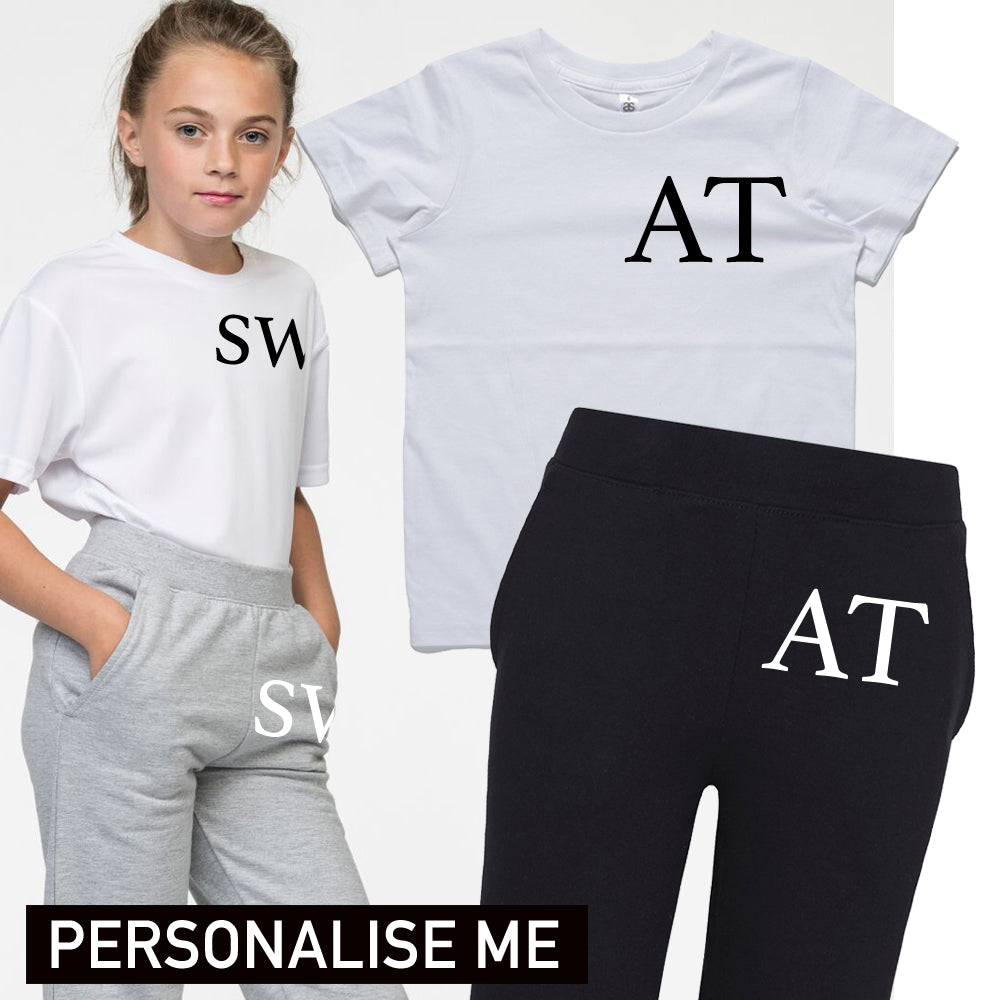 Personalised Kingdom Junior T-shirt and Pant Set (3-14 Years) (MRK X)