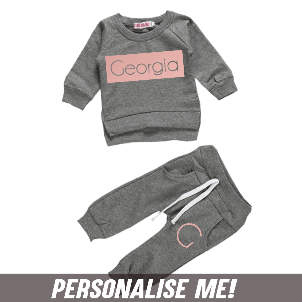 Personalised Brooklyn Tracksuit Set (3m-7 Years) (MRK X)