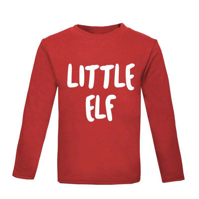 Big Elf/Little Elf Matching Long-Sleeved Tees (MRK X)