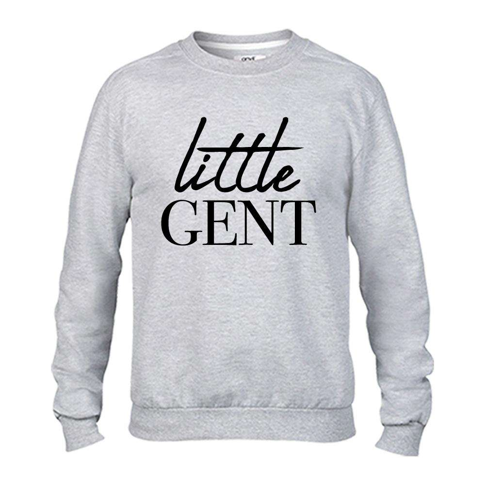 Raising Mini Gents & Ladies Light Grey Matching Sweaters (MRK X)