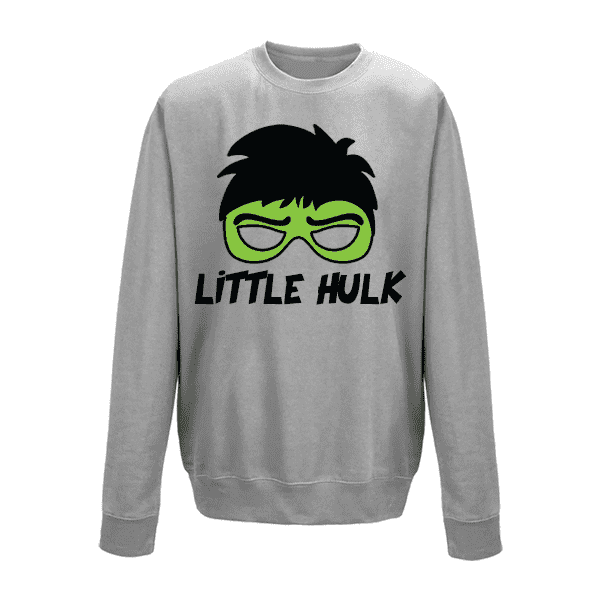 Hulk Family Matching Grey Sweaters (MRK X)