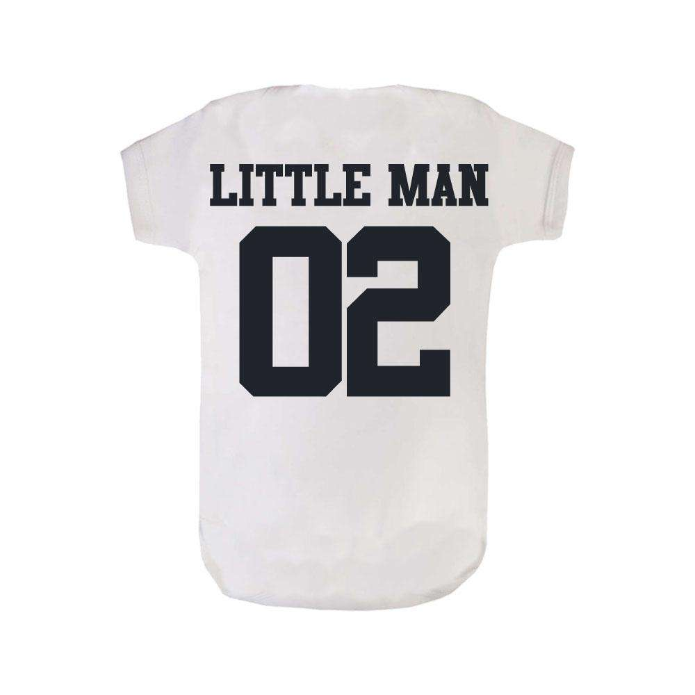 Big Man/Little Man Dad & Son Matching Tee & Bodysuit (MRK X)