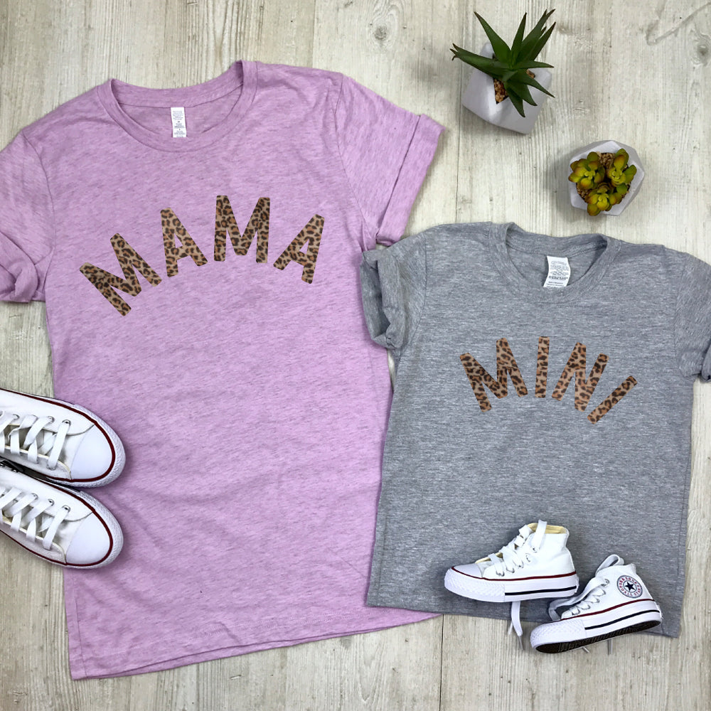 Mama & Mini Mum & Kid Matching T-Shirts (MRK X)