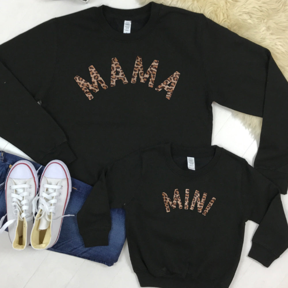 Mama & Mini Mum & Kid Matching Sweatshirts (MRK X)