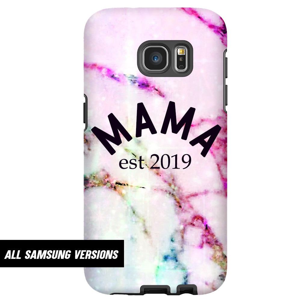 Personalised Mama Established Samsung Snap Phone Case (MRK X)