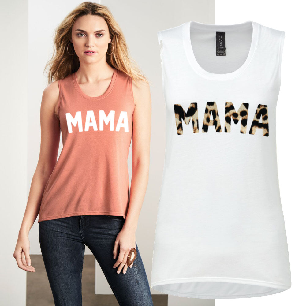 MAMA Freedom Sleeveless Tee (MRK X)