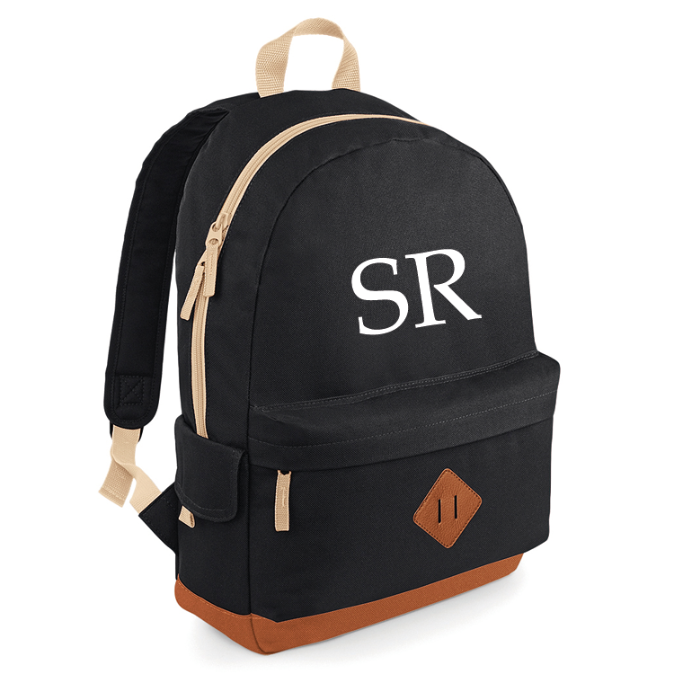 Personalised Initial Campus Backpack (MRK X)