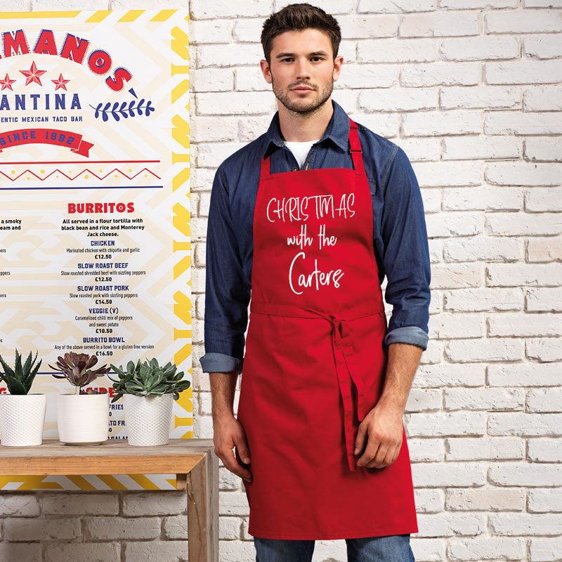 Personalised Christmas With Apron (MRK X)