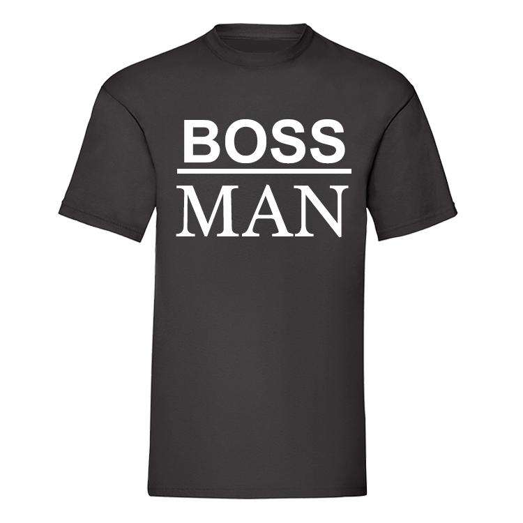 Boss Family - Matching Black T-Shirts (MRK X)